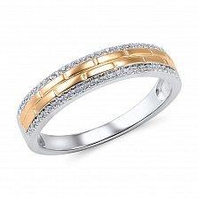 Кольцо из золота с бриллиантами Леона