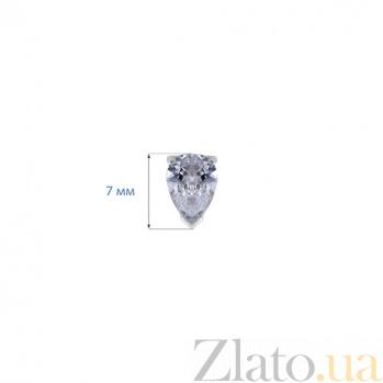 Серебряные пусеты Алекса AQA--220500151/4