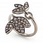 Кольцо Hera с коньячными бриллиантами R-Stern-E-40bd
