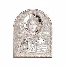 Икона Иисус Христос серебро