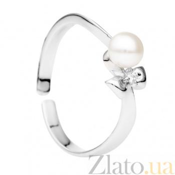 Детское золотое кольцо с жемчугом Princess 000029921