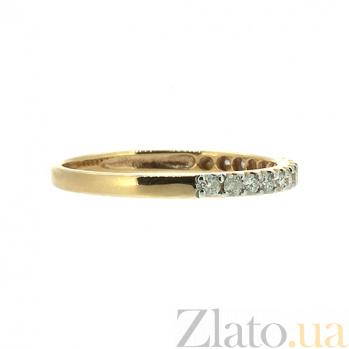 Золотое кольцо в красном цвете с бриллиантами Кальяни 000021521