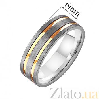 Золотое обручальное кольцо Восторг TRF--4211571