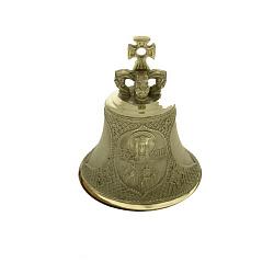 Именной бронзовый колокольчик Св. Ольга