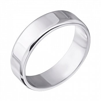 Серебряное обручальное кольцо 000043138