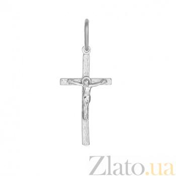 Серебряный крестик Радость души 000028507