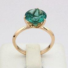 Золотое кольцо Азиза с аметистом