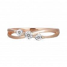 Кольцо из золота с бриллиантами Алекса