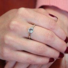 Серебряное кольцо Амритта с топазом
