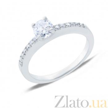 Серебряное кольцо на помолвку Притяжение AQA--MRC-011