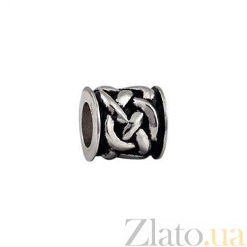 Серебряная бусина Кельтские узлы AQA--135510219