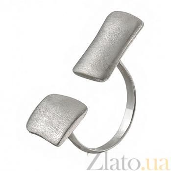 Серебряное кольцо Авангард К1-2 м