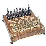 Серебряные шахматы Испания