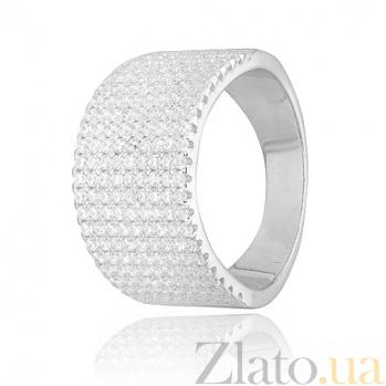 Кольцо из серебра с фианитами Волшебный блеск 000028070