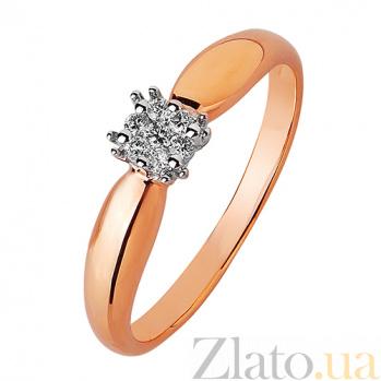 Золотое кольцо Джулия SVA--1102063201/Бриллиант