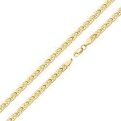 Золотой браслет Перри в желтом цвете фантазийного плетения