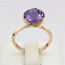 Золотое кольцо с александритом Азиза