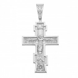 Серебряный крестик 000117927