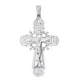 Серебряный крестик Безусловная любовь