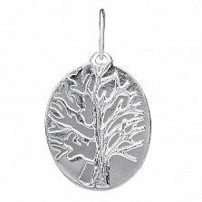 Серебряная подвеска Дерево