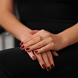 Золотое кольцо Мириам с бриллиантом