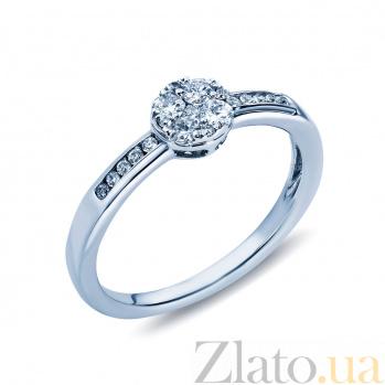 Золотое кольцо Судьба с бриллиантами AQA--SR-R-116461