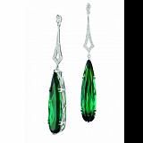 Серьги Argile-Z с турмалинами и бриллиантами