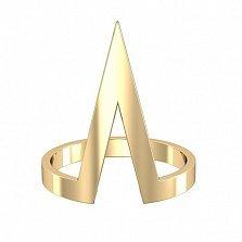 Кольцо Астар в желтом золоте