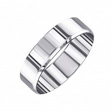 Обручальное кольцо Страна любви серебряное