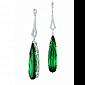 Серьги Argile-Z с турмалинами и бриллиантами E-cjZ-W-2tr-38d