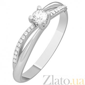 Кольцо из белого золота с бриллиантами Monique KBL--К1120/бел/брил