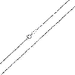 Золотая цепочка в белом цвете Якорька, 1мм