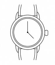 Часы наручные Hirsch 10122080-1-18