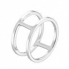 Серебряное кольцо на фалангу Борнео