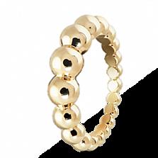 Кольцо из желтого золота Perlée