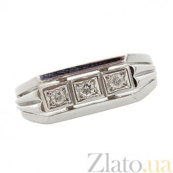 Серебряный перстень с бриллиантами Босс ZMX--RD-6028-Ag_K