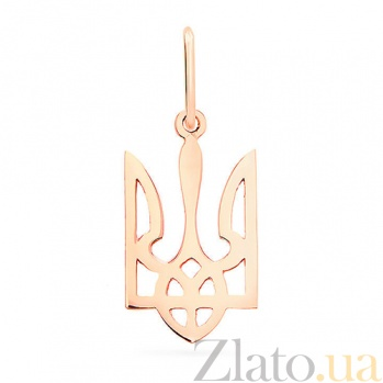 Золотой кулон Герб Украины SUF--440581