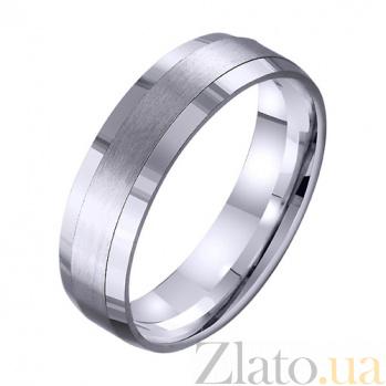 Золотое обручальное кольцо Счастливый брак TRF--421731