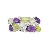 Серебряное кольцо Раиса