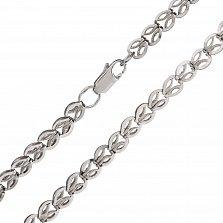 Серебряная цепочка Плетеный колосок