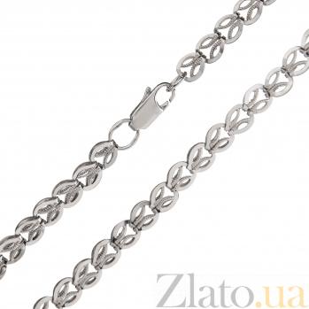 Серебряная цепочка Плетеный колосок TNG--800099С