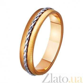 Золотое обручальное кольцо Прочная связь TRF--441271