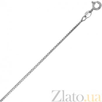 Серебряная цепь Виктория, 1 мм 000027844