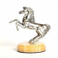 Статуэтка из серебра с позолотой Пони