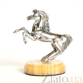Статуэтка из серебра с позолотой Пони 1609/пони