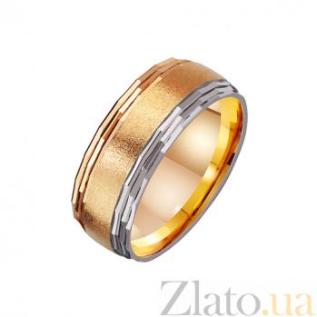 Золотое обручальное кольцо Ты мой свет TRF--4111087