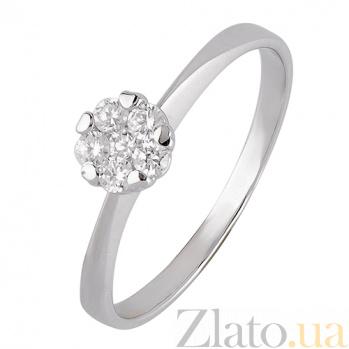 Золотое кольцо  с фианитами Эльфия SVA--1190834102/Фианит/Цирконий