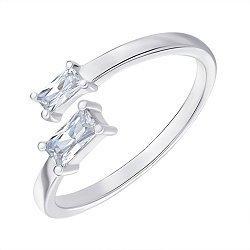 Кольцо серебряное с фианитами 000144050