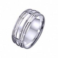 Золотое обручальное кольцо Вечность чувств