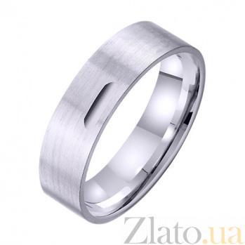 Золотое обручальное кольцо Постоянство чувств TRF--421878